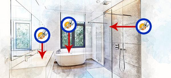 L'installation d'un lavabo, d'une douche ou d'un chauffe-eau à Portneuf passe par quebecplombier.