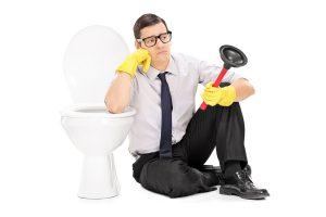 Prix pour un débouchage de toilette par un plombier